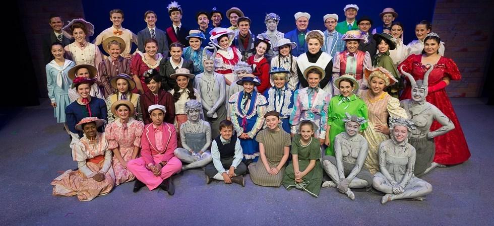 CN Drama--Mary Poppins Cast