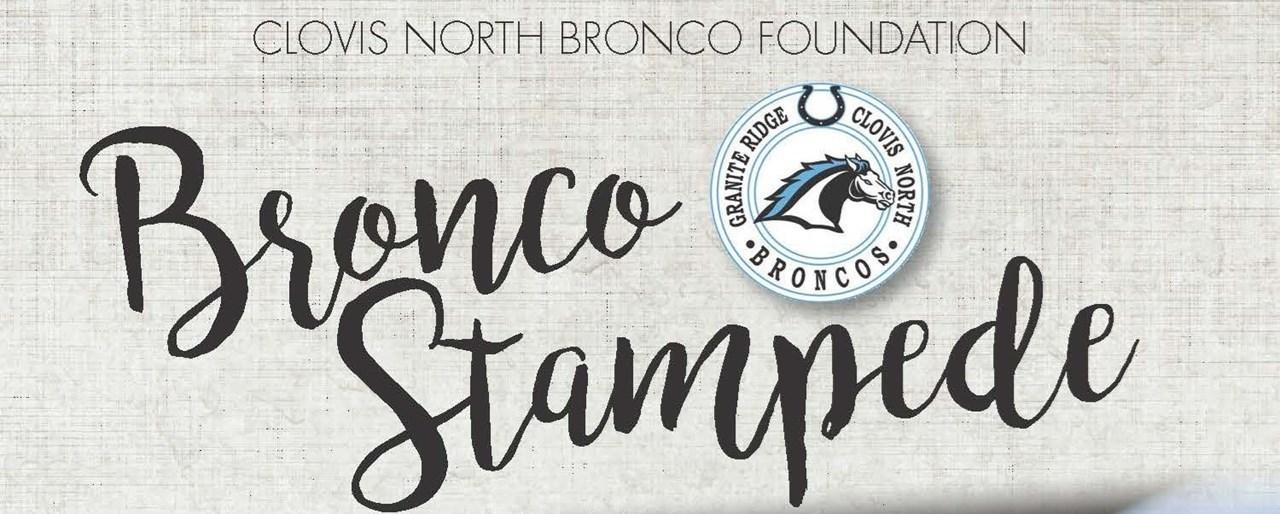 Save the Date--Bronco Stampede October 12, 2019
