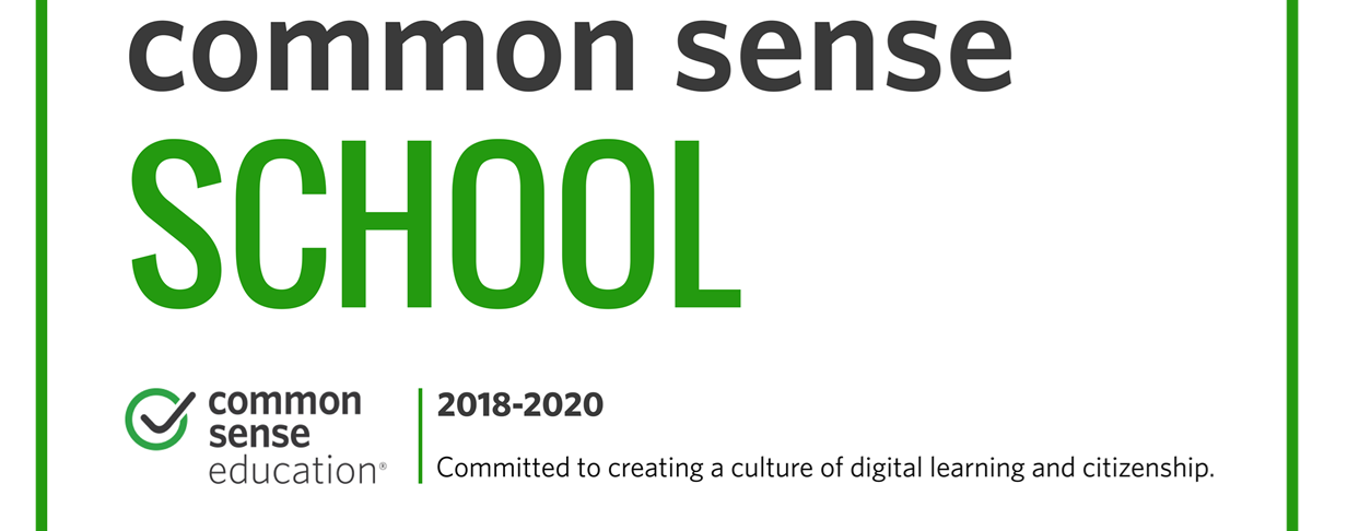 Common Sense school banner
