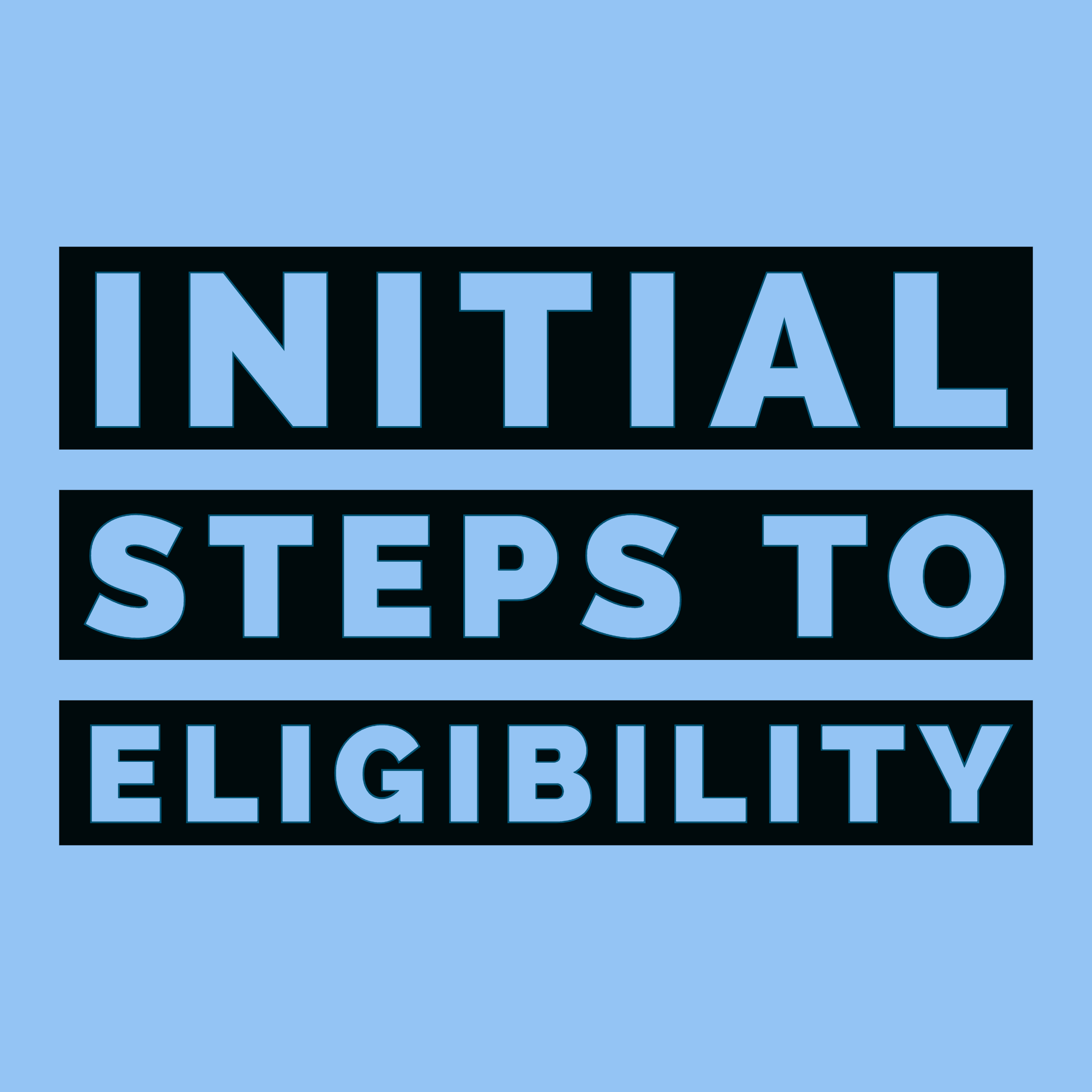 Initial Steps to NCAA Eligibility